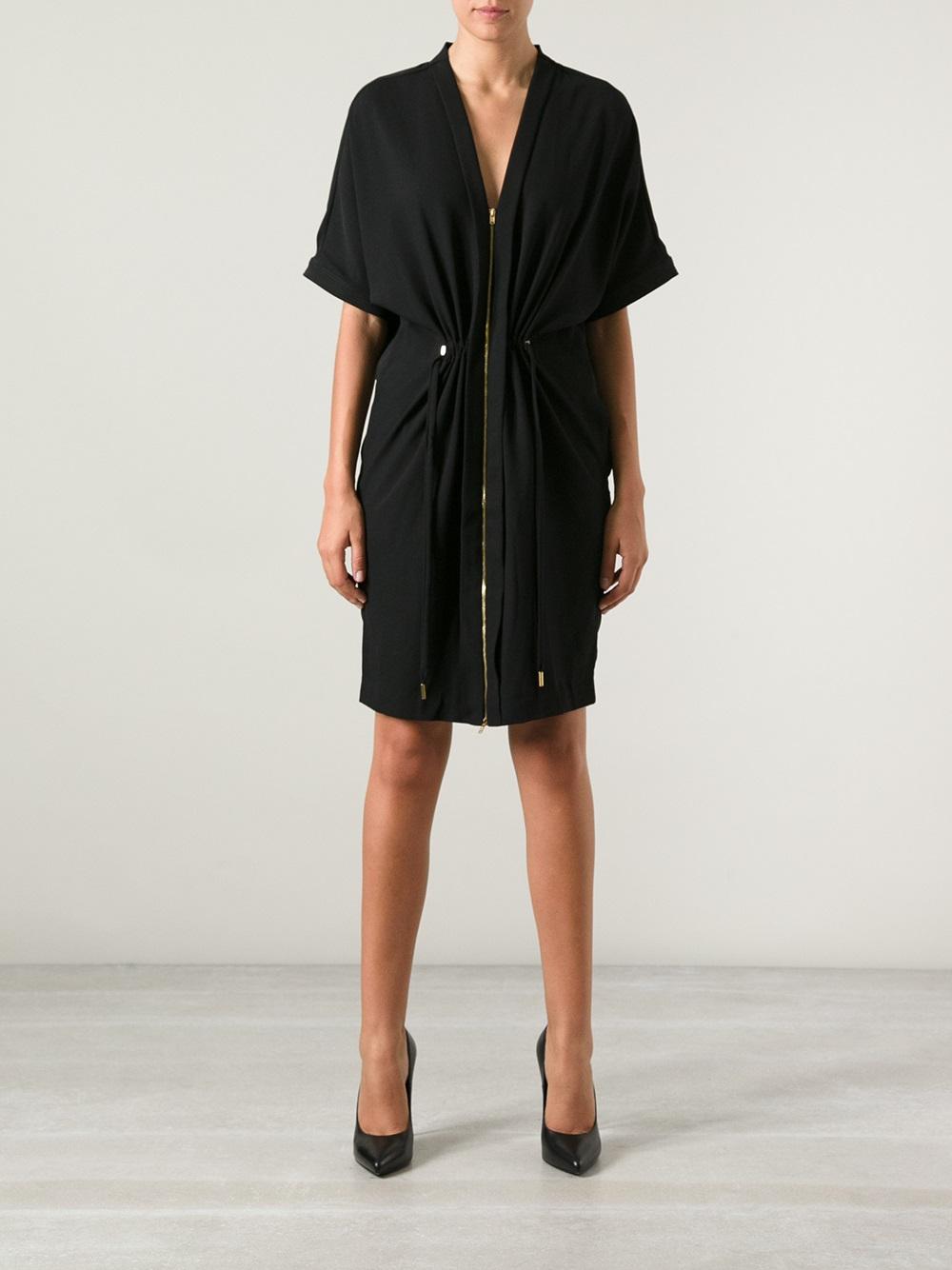 lyst day birger et mikkelsen lax zipped dress in black. Black Bedroom Furniture Sets. Home Design Ideas
