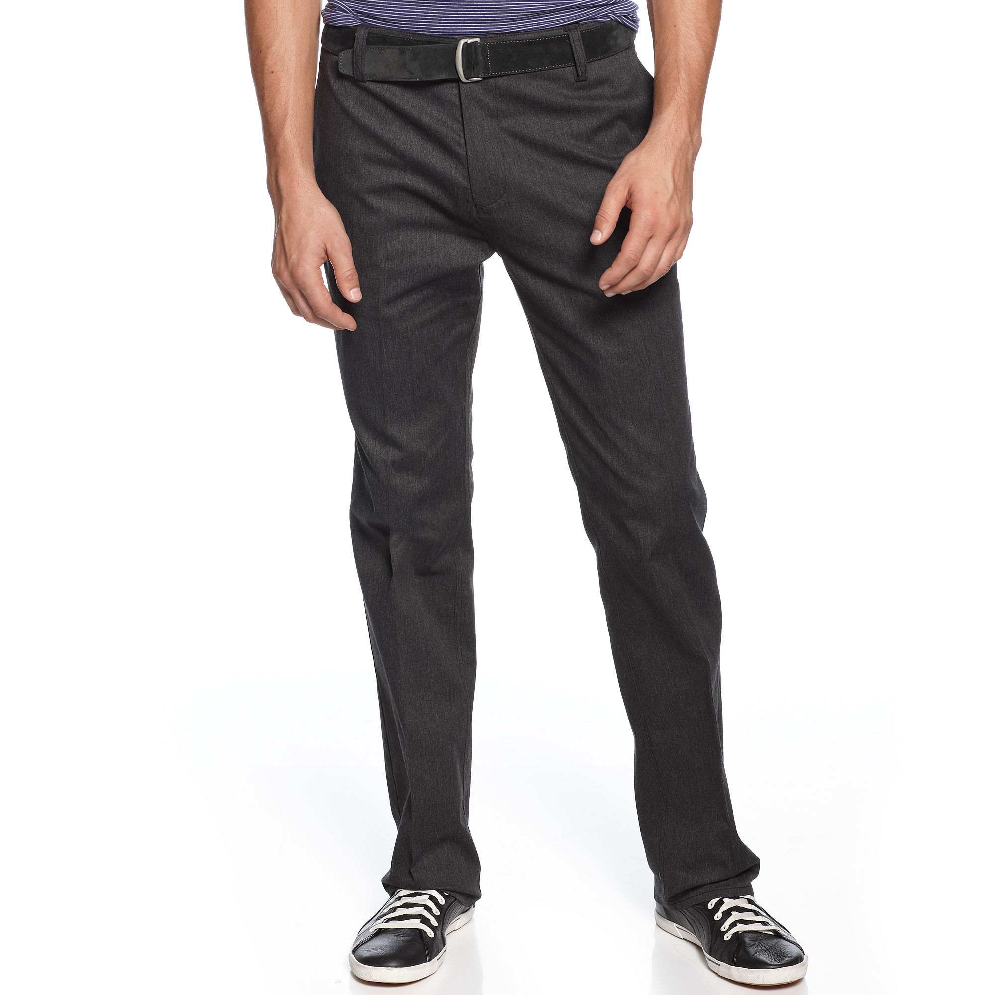 Dc Shoes Worker Pants In Black For Men Navy Lyst