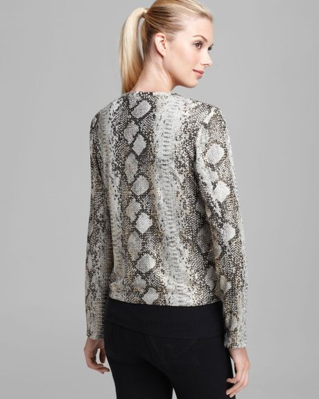 Grayse Snake Mezzo Jacket In Animal Multi Lyst