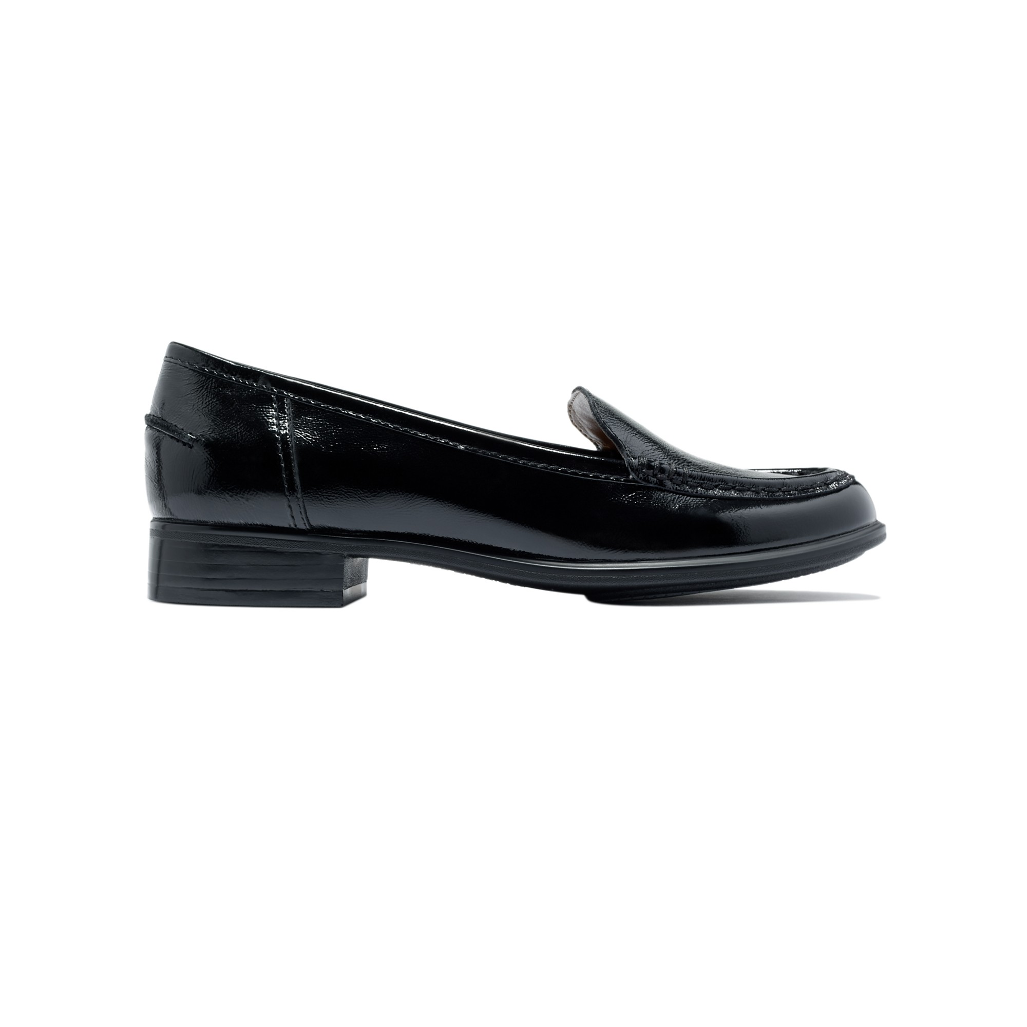 180d839452f Lyst - Hush Puppies Blondelle Loafer Flats in Black