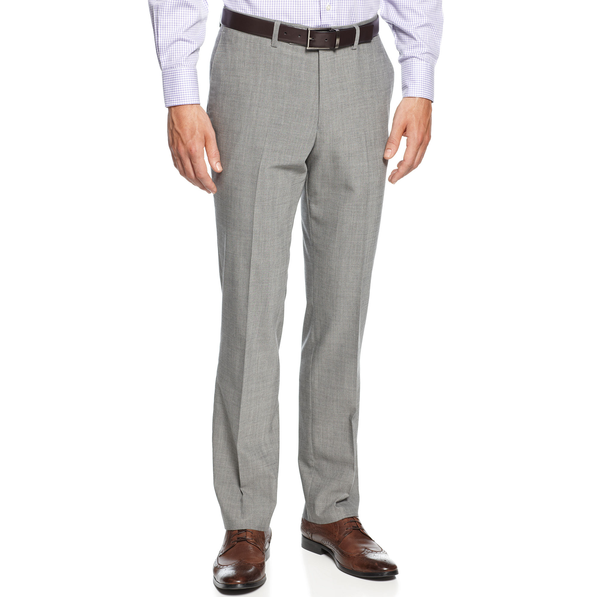 Free shipping and returns on Men's Grey Dress Pants at newbez.ml