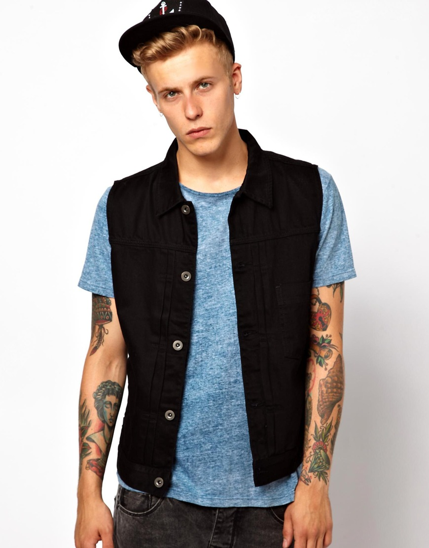 Find great deals on eBay for mens denim sleeveless jacket. Shop with confidence.