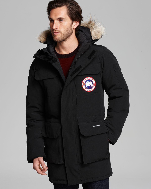 canada goose fur on hood