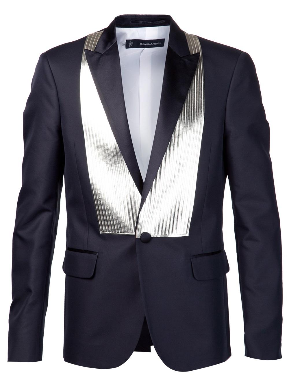 Lyst - Dsquaredu00b2 Tuxedo Jacket In Black For Men