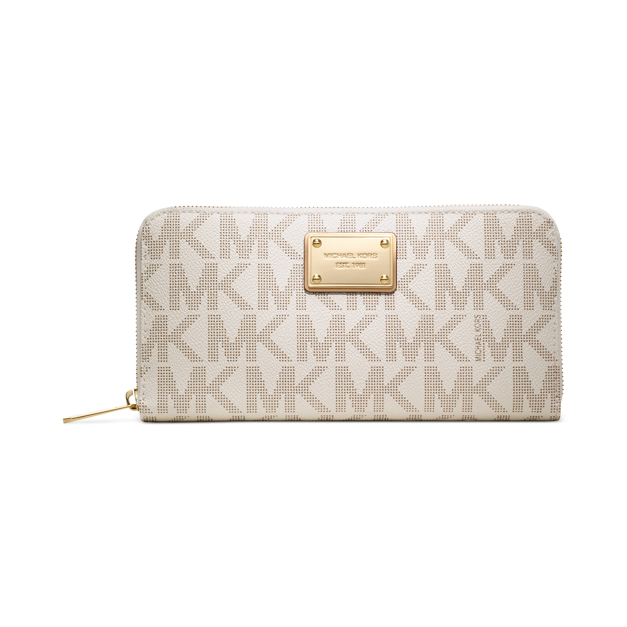 From lifelong classics, to seasonal sensations - harness the power of accessories with the latest Michael Michael Kors collection. Equal parts cool and classy, every piece is a sure-fire winner. This black leather ruched clutch bag from Michael Michael Kors features a top zip closure, a shoulder strap, a ruched design and a gold-tone logo plaque.