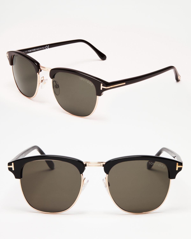 tom ford henry wayfarer sunglasses in black lyst. Black Bedroom Furniture Sets. Home Design Ideas