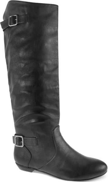 Chinese Laundry Next Shot Boots in Gray (Cognac)