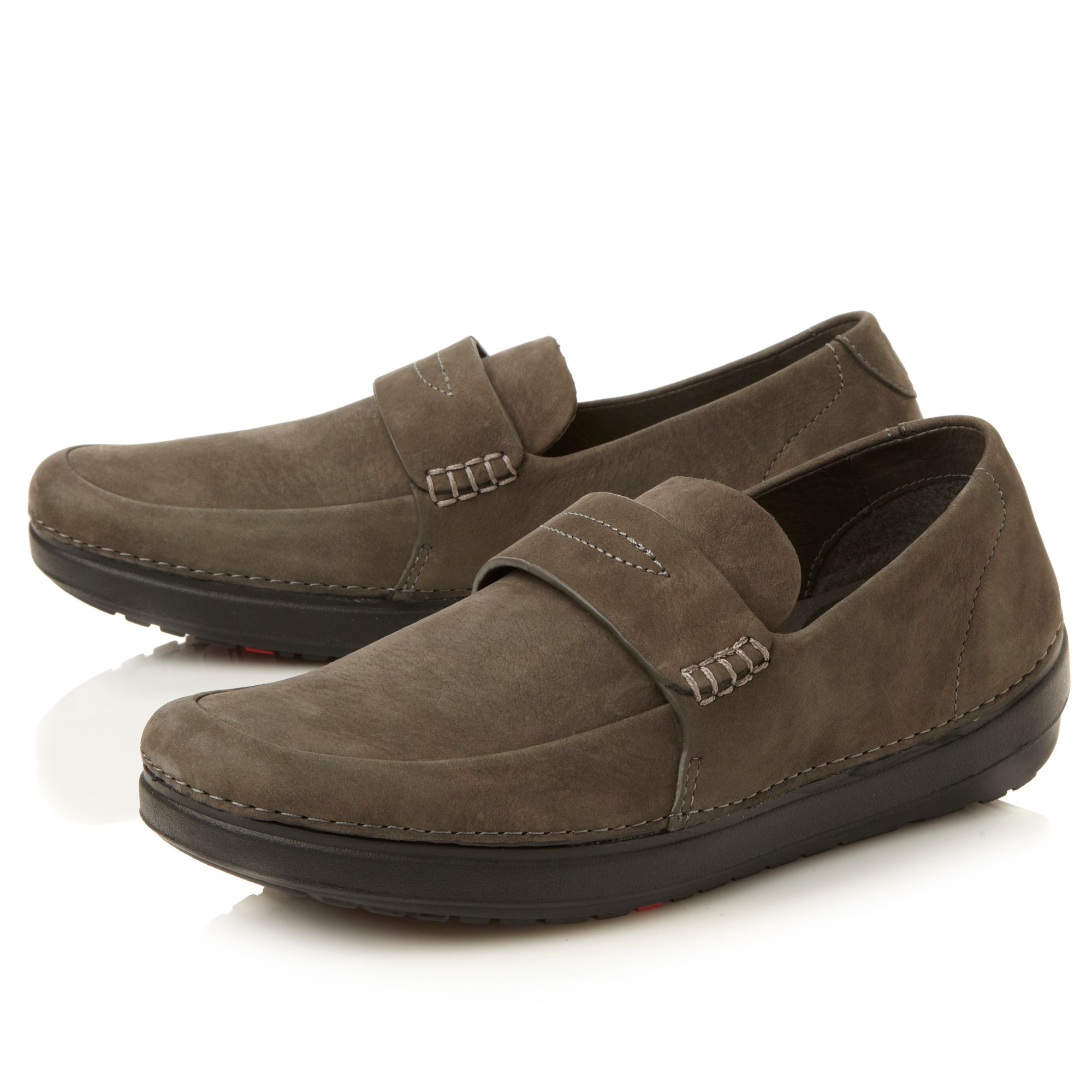 John Lobb Shoes >> Lyst - Fitflop Flex Loafer Casual Loafer in Brown for Men