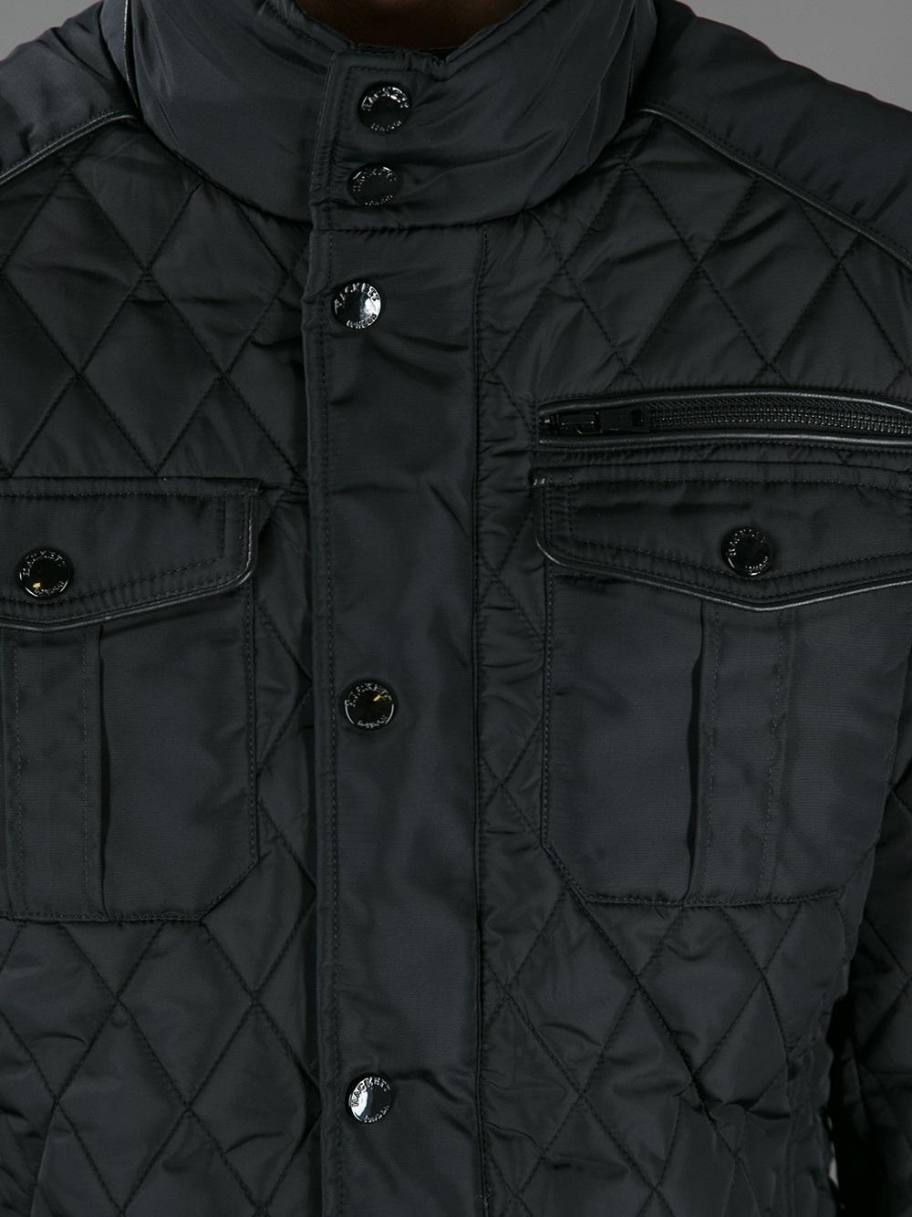 Hackett Aston Martin Racing Jacket in Black for Men | Lyst : quilted racing jacket - Adamdwight.com