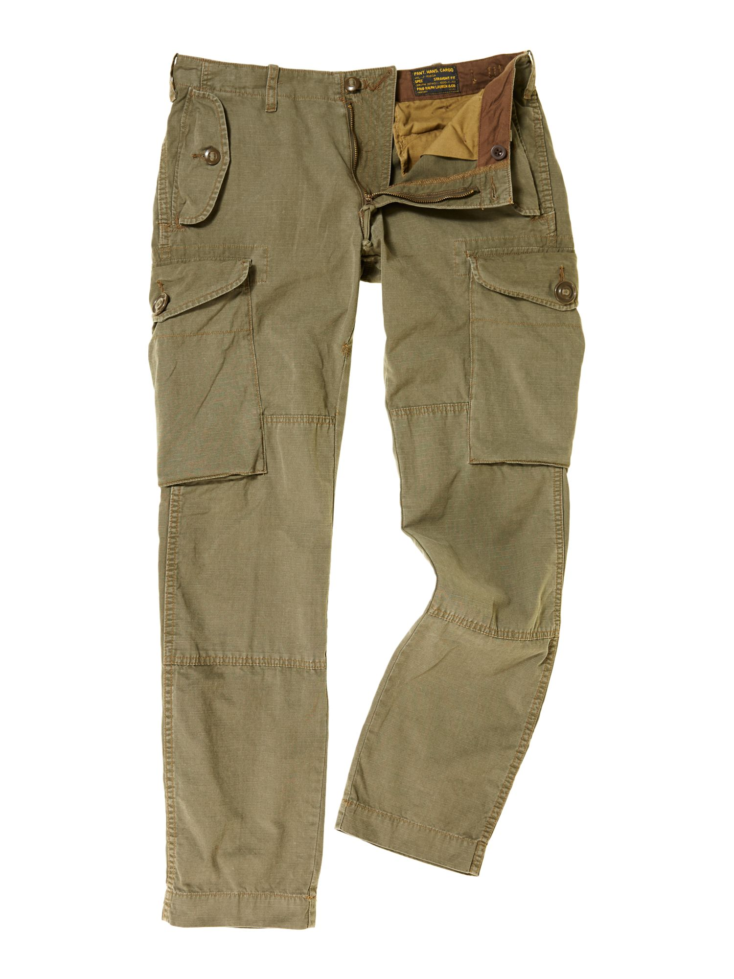 Polo ralph lauren Canadian Cargo Pants in Green for Men | Lyst