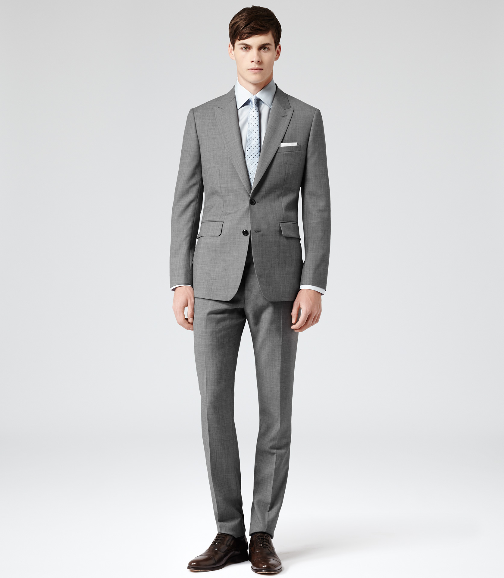 Light Grey Suit. Light grey suits are an excellent choice for formal and casual funon.ml are youthful, modern and sharp – but as with all suits, tailoring is essential.