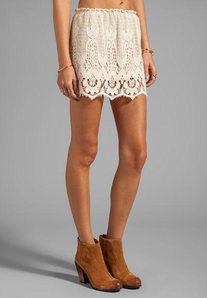 onion booty mini skirt