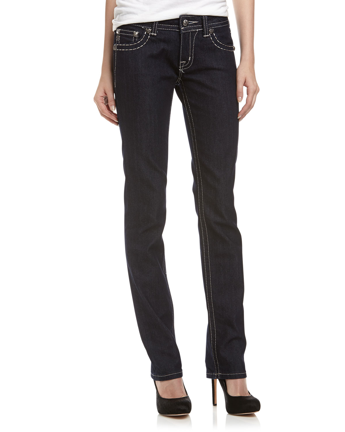 Shop All Fashion Premium Brands Women Men Kids Shoes Jewelry & Watches Bags & Accessories Premium Beauty Savings. Miss Me Juniors Jeans; Miss Me See All Women's Bottoms; Miss Me. Miss Me Juniors Jeans. Showing 32 of 34 results that match your query. Search Product Result. Product - Miss Me Denim Jeans Womens Beads Boot cut Medium Wash.
