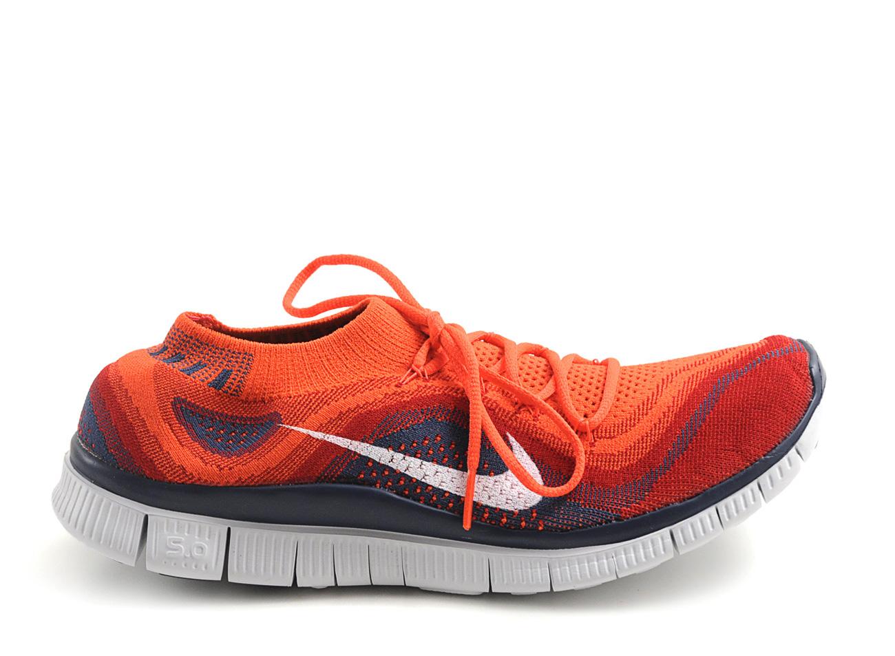 watch 03f1d 507ce Nike Free Flyknit Orange