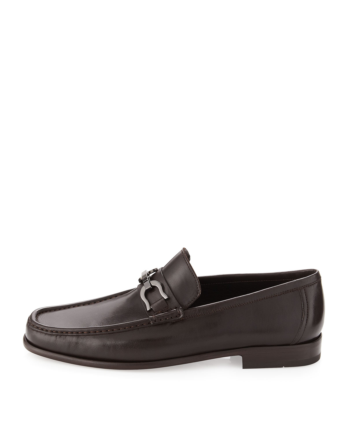 881fa524740 Lyst - Bruno Magli Mikko Buckle Loafer Dark Brown in Black for Men