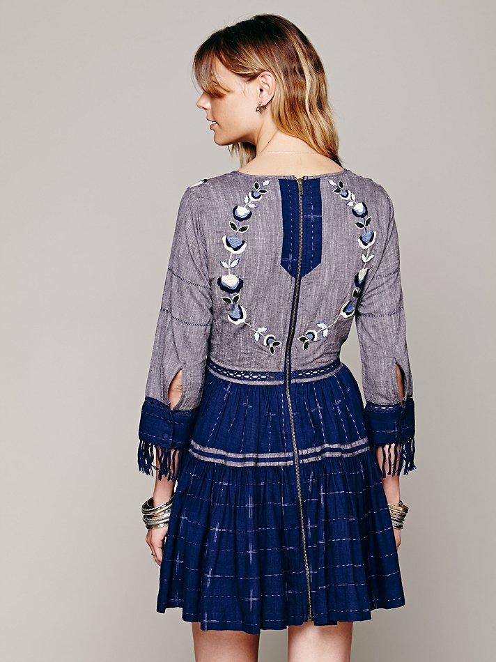 Lyst Free People Fp New Romantics Lovers Lane Ikat Dress