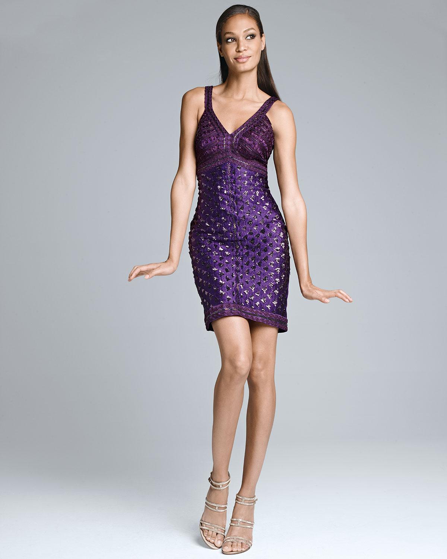 Sue Wong Evening Dresses Purple  Dress images