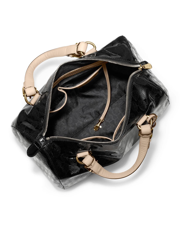 9056862abf Black Michael Kors Handbag Grayson Monogram Medium Satchel - Style ...