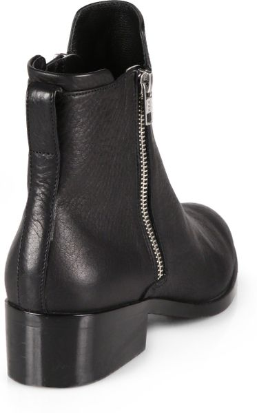 3 1 Phillip Lim Alexa Leather Ankle Boots In Black Lyst