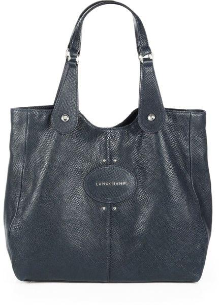 Longchamp Quadri Shoulder Bag in Blue (CEDAR)