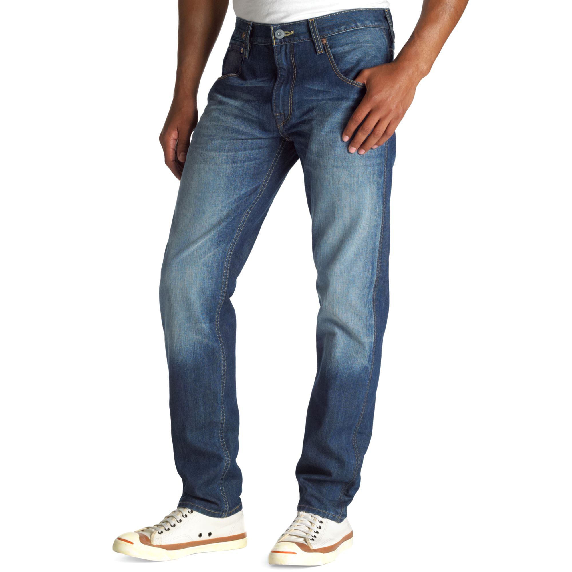 levi 39 s 569 loose straight leg jeans in ultramarine in blue. Black Bedroom Furniture Sets. Home Design Ideas