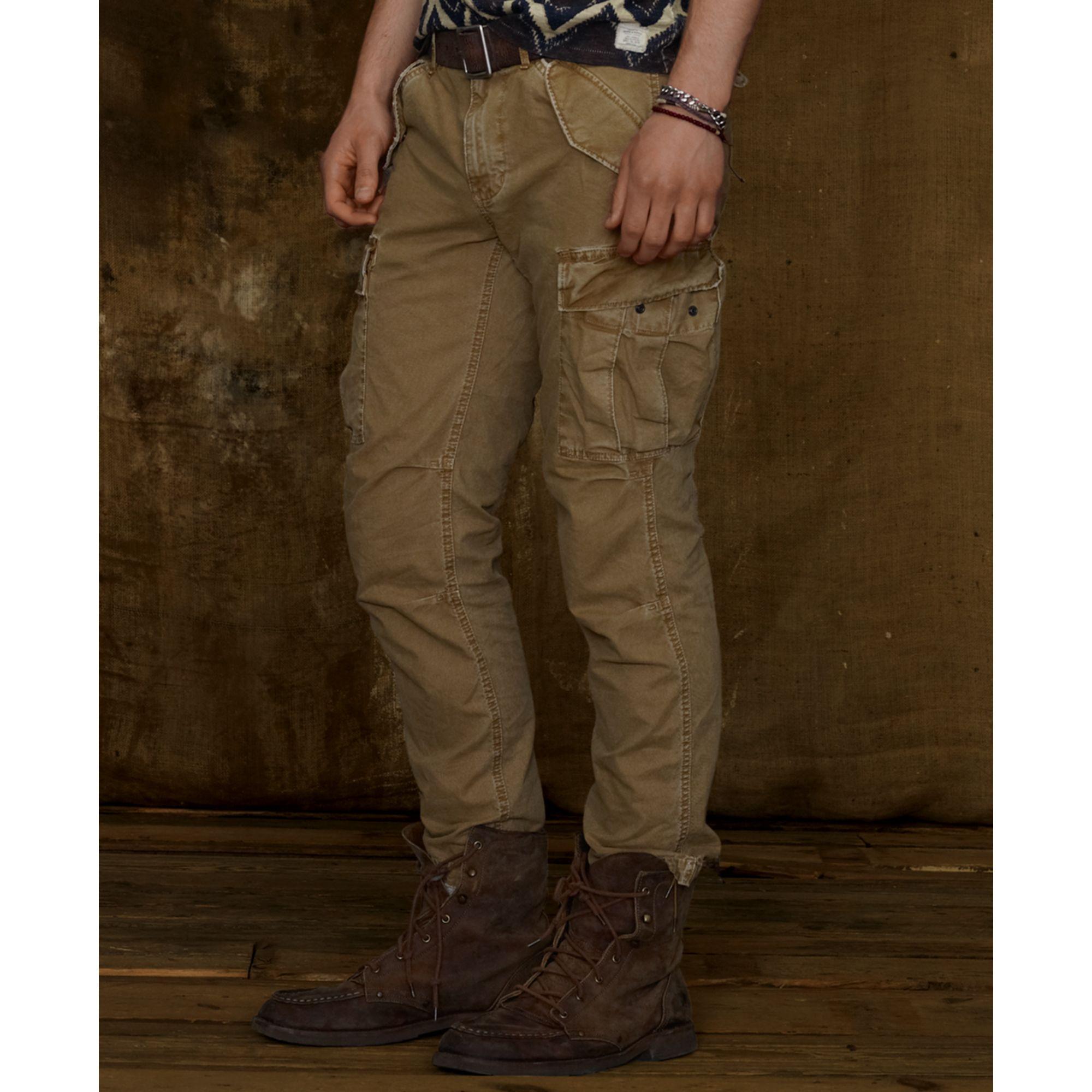 Denim & supply ralph lauren Field Cargo Pants in Natural for Men ...