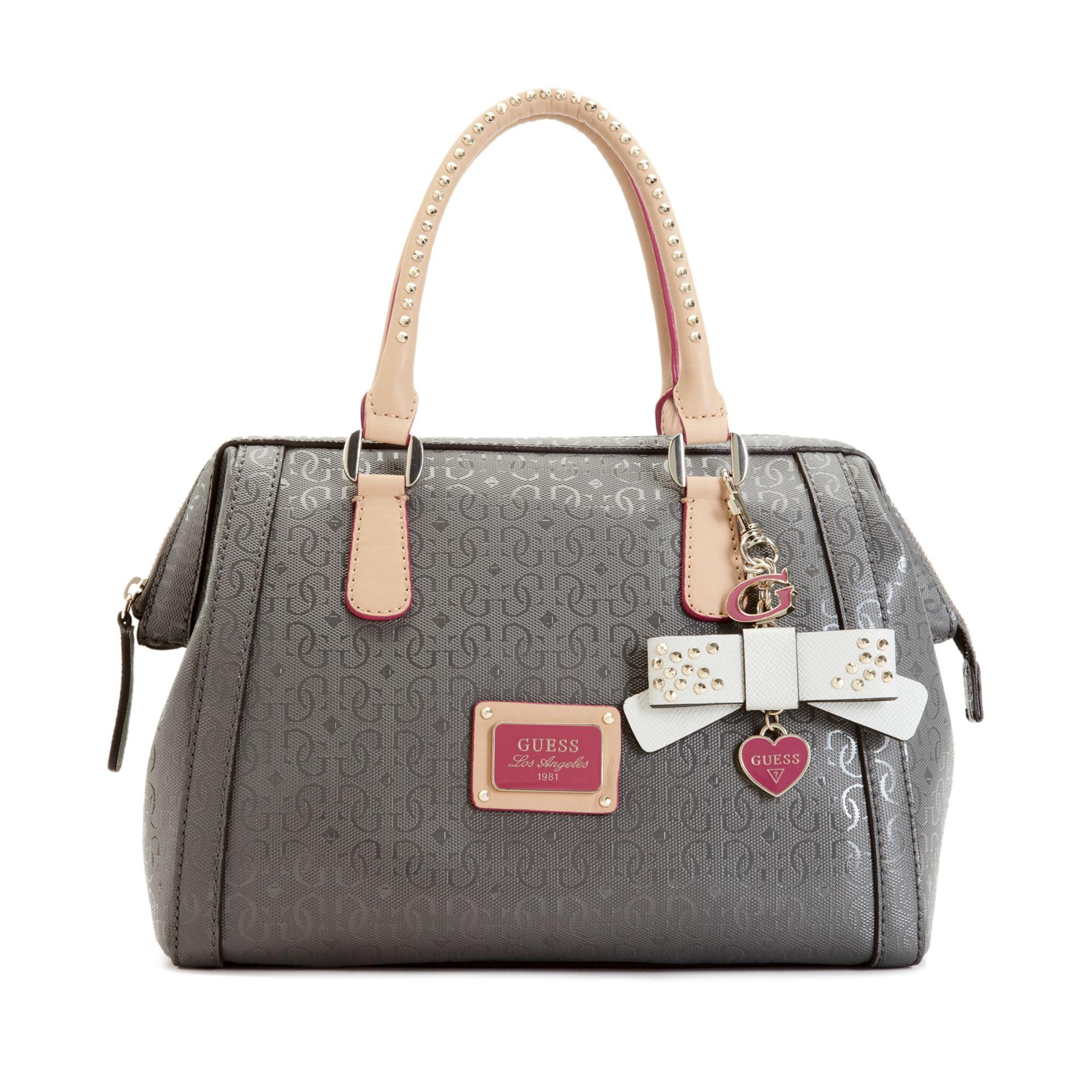 Lyst - Guess Guess Handbag Specks Frame Satchel