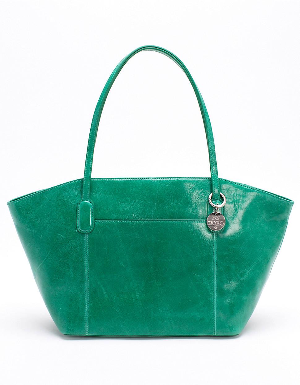 ba91004c72 Hobo Patti Tote Bag in Green (PEACOCK GREEN)