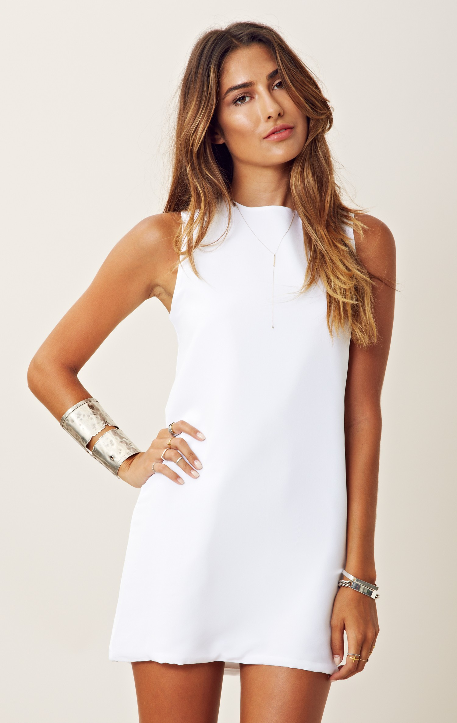 naven twiggy dress in white lyst