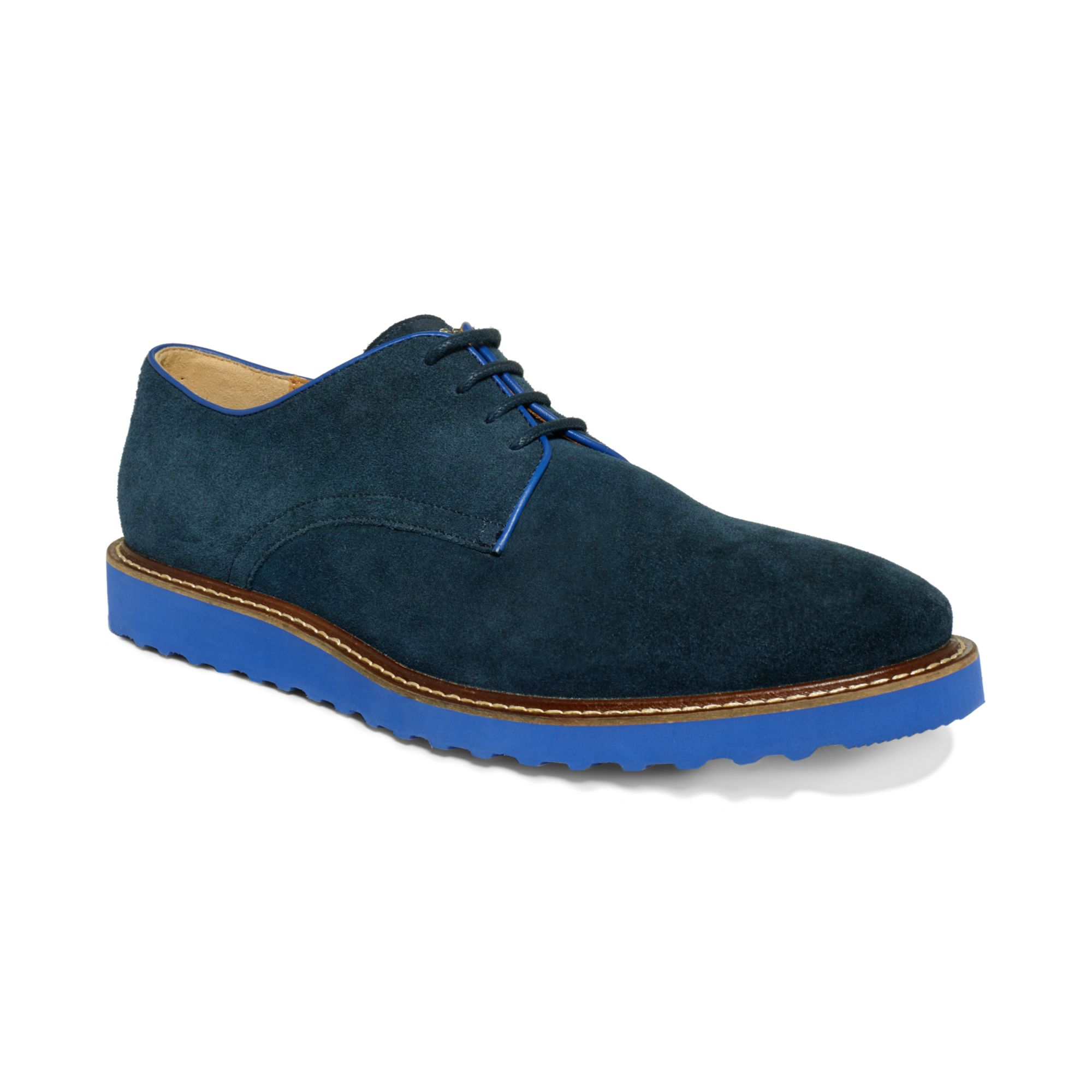 Suede Leather Oxfords Shoes