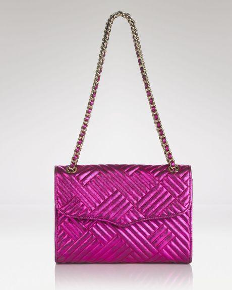 Rebecca Minkoff Shoulder Bag Affair in Purple (Magenta)