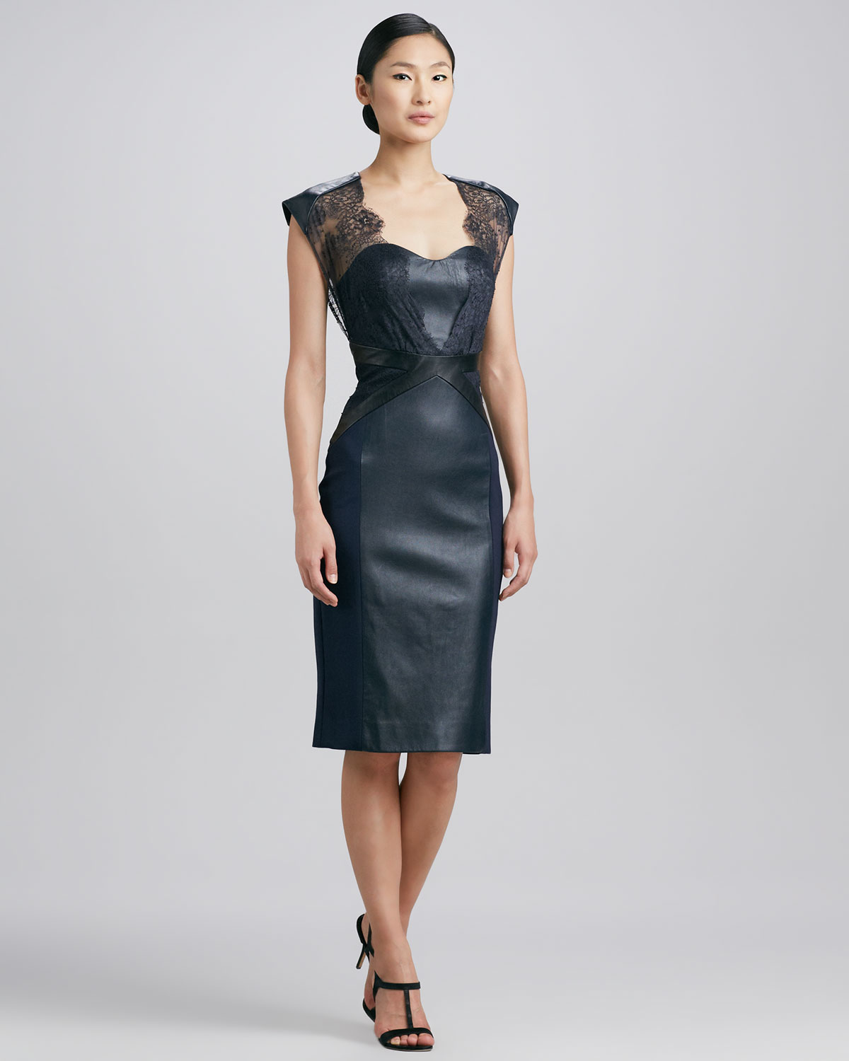 Leather Cocktail Dresses