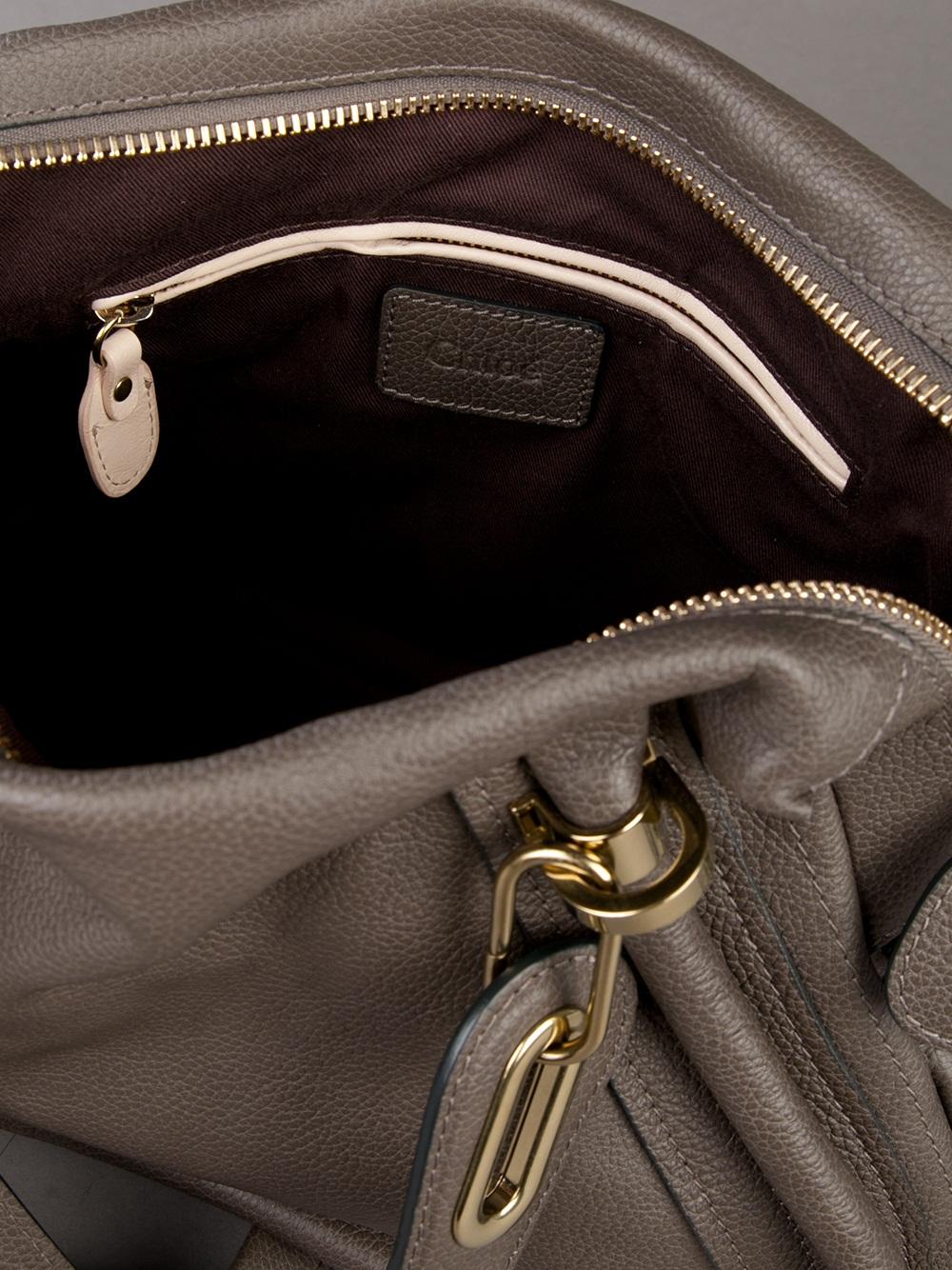 Chlo¨¦ Paraty Bag in Gray (grey) | Lyst