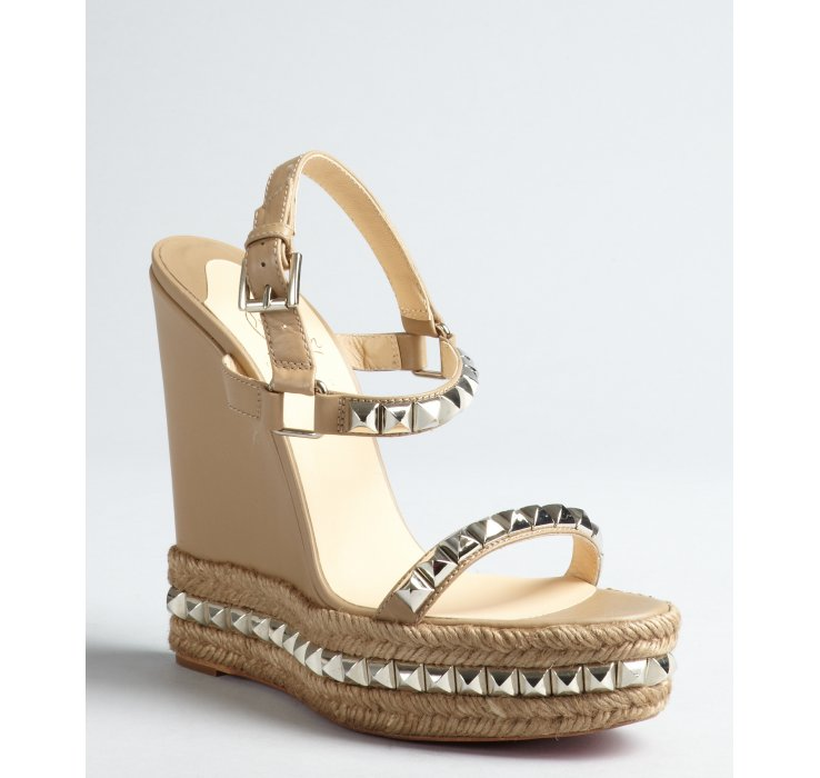 info for 6d41b 6ef75 coupon code louboutin studded wedges 78db4 99743