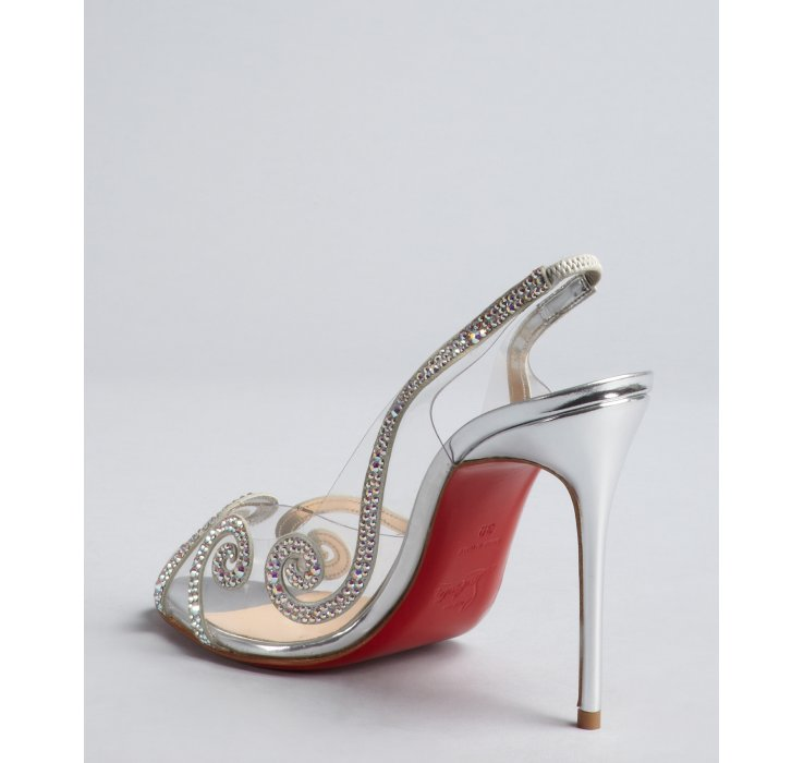 c81bfaa667a christian louboutin shoes on sale bluefly store clear crystal ...