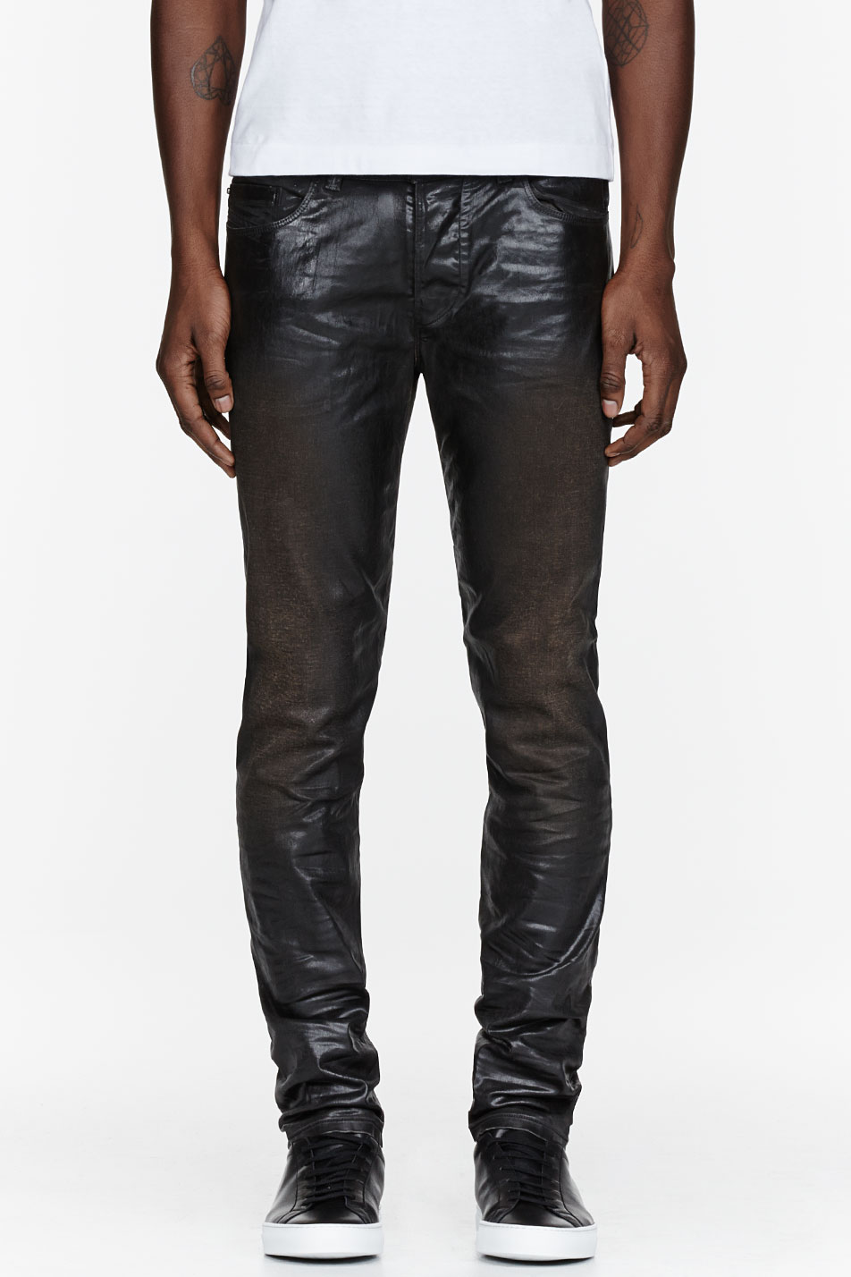 Find and save ideas about Black jeans men on Pinterest. | See more ideas about Black and brown mens fashion, Mens casual leather boots and Men's casual fashion boots. Men's fashion. Black jeans men Men's Black Pea Coat, Charcoal Zip Sweater, Charcoal Long Sleeve Shirt, Black Jeans.