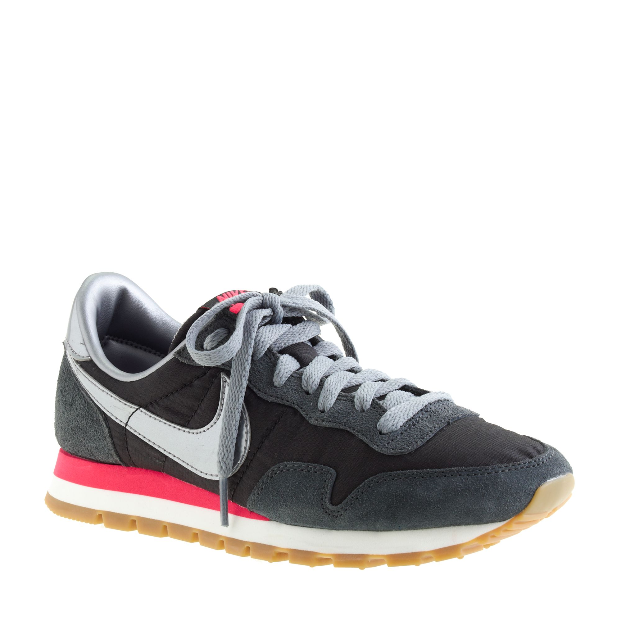 4fc2397addb2 ... sale lyst j.crew nike vintage collection air pegasus 83 sneakers in  black 37d43 758ab