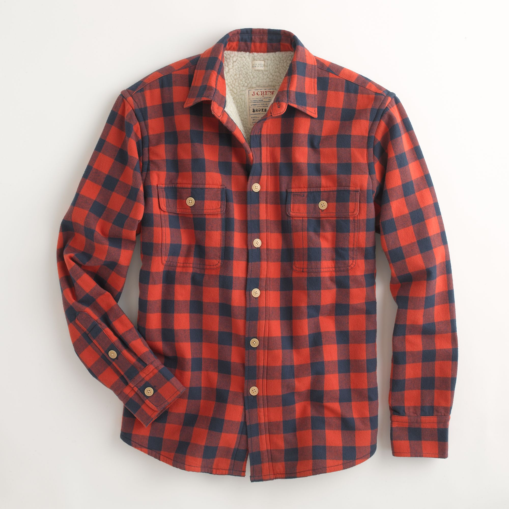 Men S Red Gingham Shirt