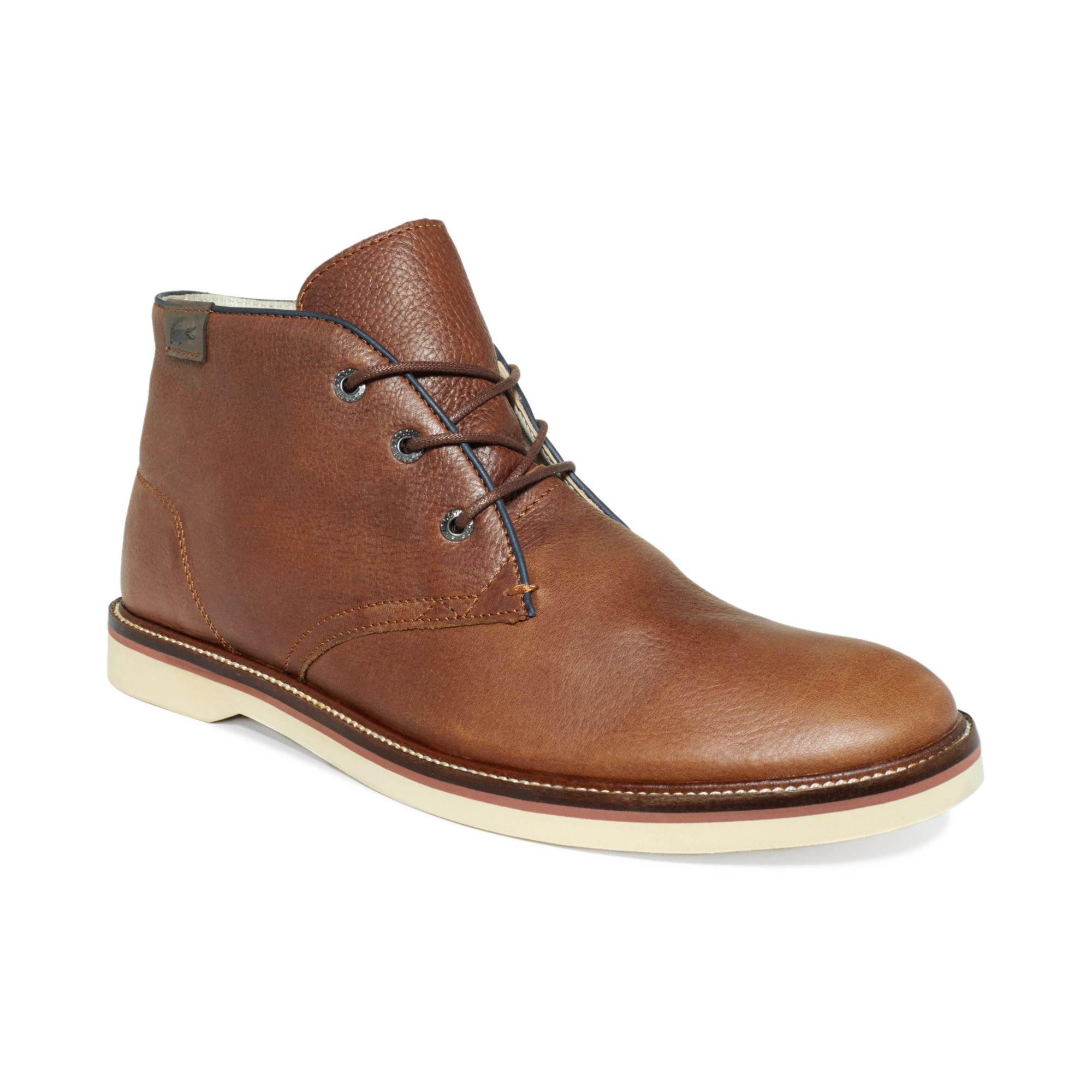 f42d752d8d2258 Lyst - Lacoste Sherbrooke Hi Boots in Brown for Men