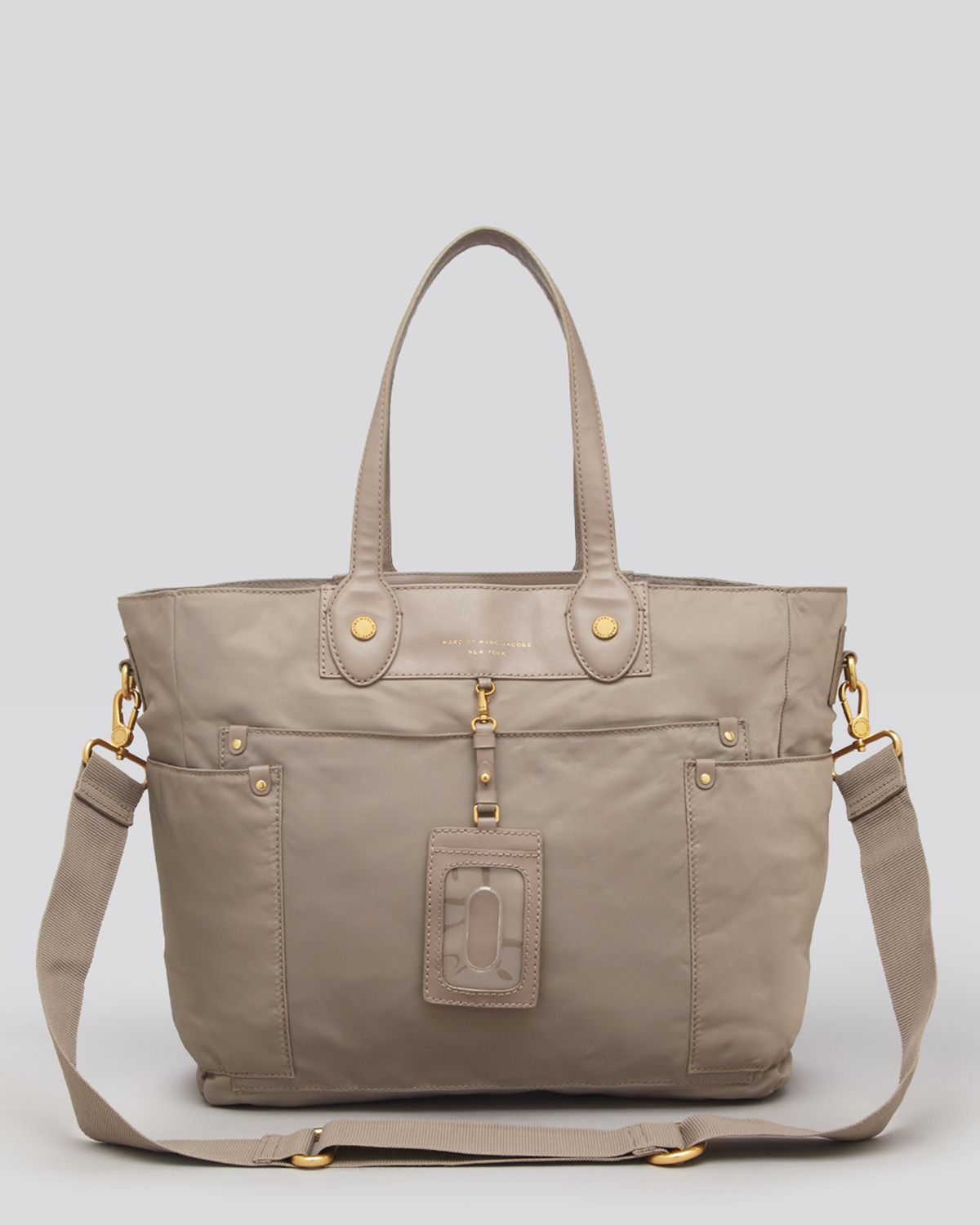 marc by marc jacobs baby bag preppy nyon elizababy in gray cement lyst. Black Bedroom Furniture Sets. Home Design Ideas