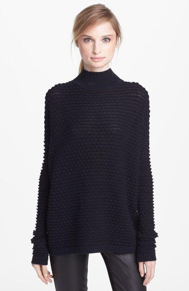 Vince Textured Mock Neck Sweater 76