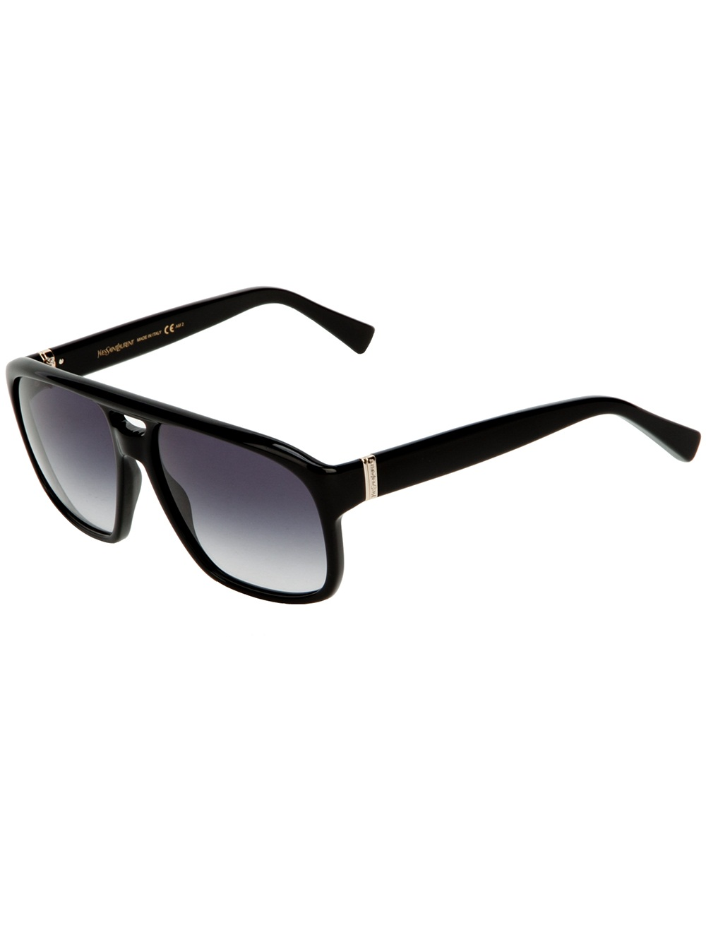 840697fd2df Lyst - Saint Laurent Square Frame Sunglasses in Black for Men