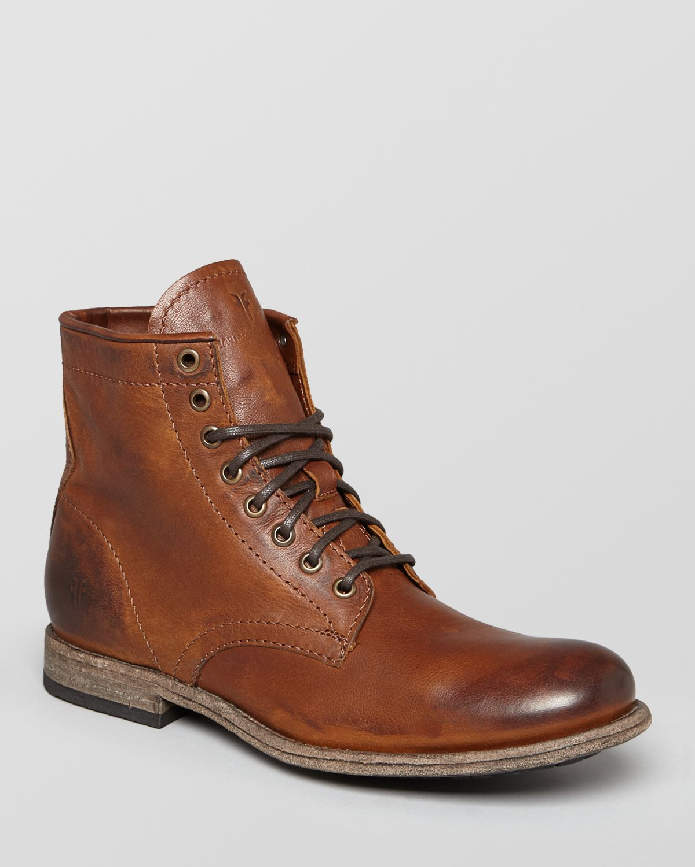 Men S Frye Cognac Shoes