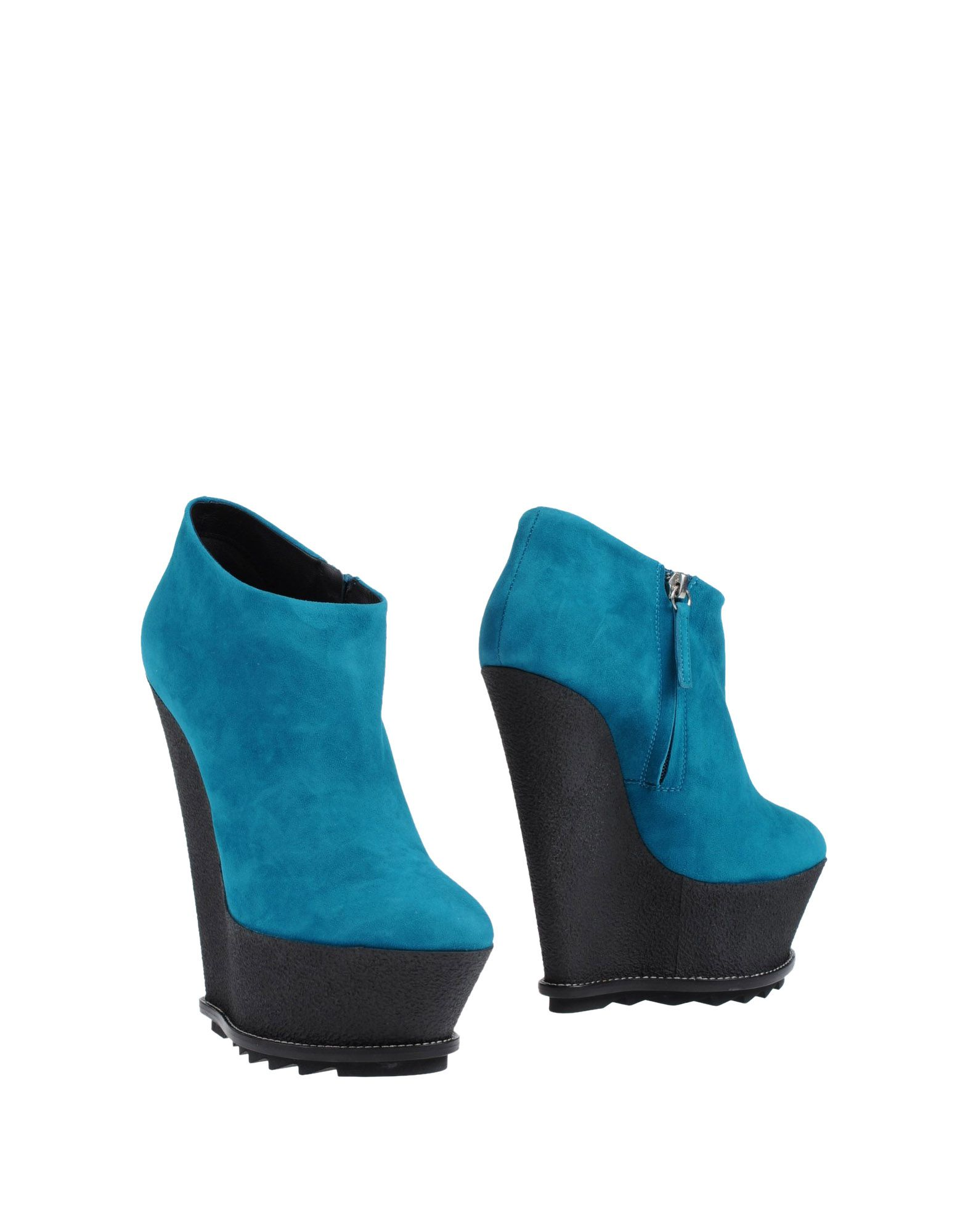 giuseppe zanotti ankle boots in blue turquoise lyst