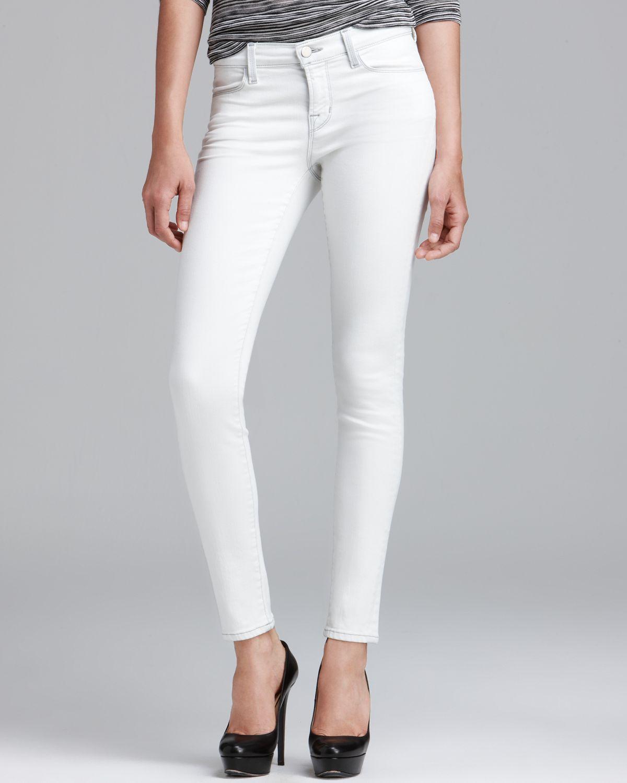 j brand jeans 620 legging in frostbite in white frostbite. Black Bedroom Furniture Sets. Home Design Ideas