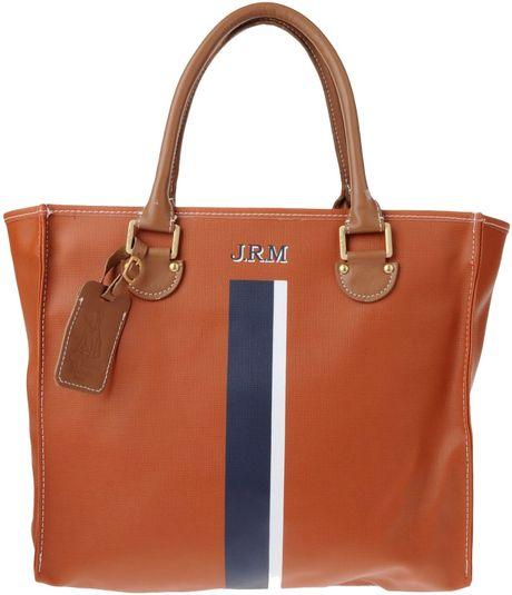 jack russell malletier handbag in brown rust lyst. Black Bedroom Furniture Sets. Home Design Ideas