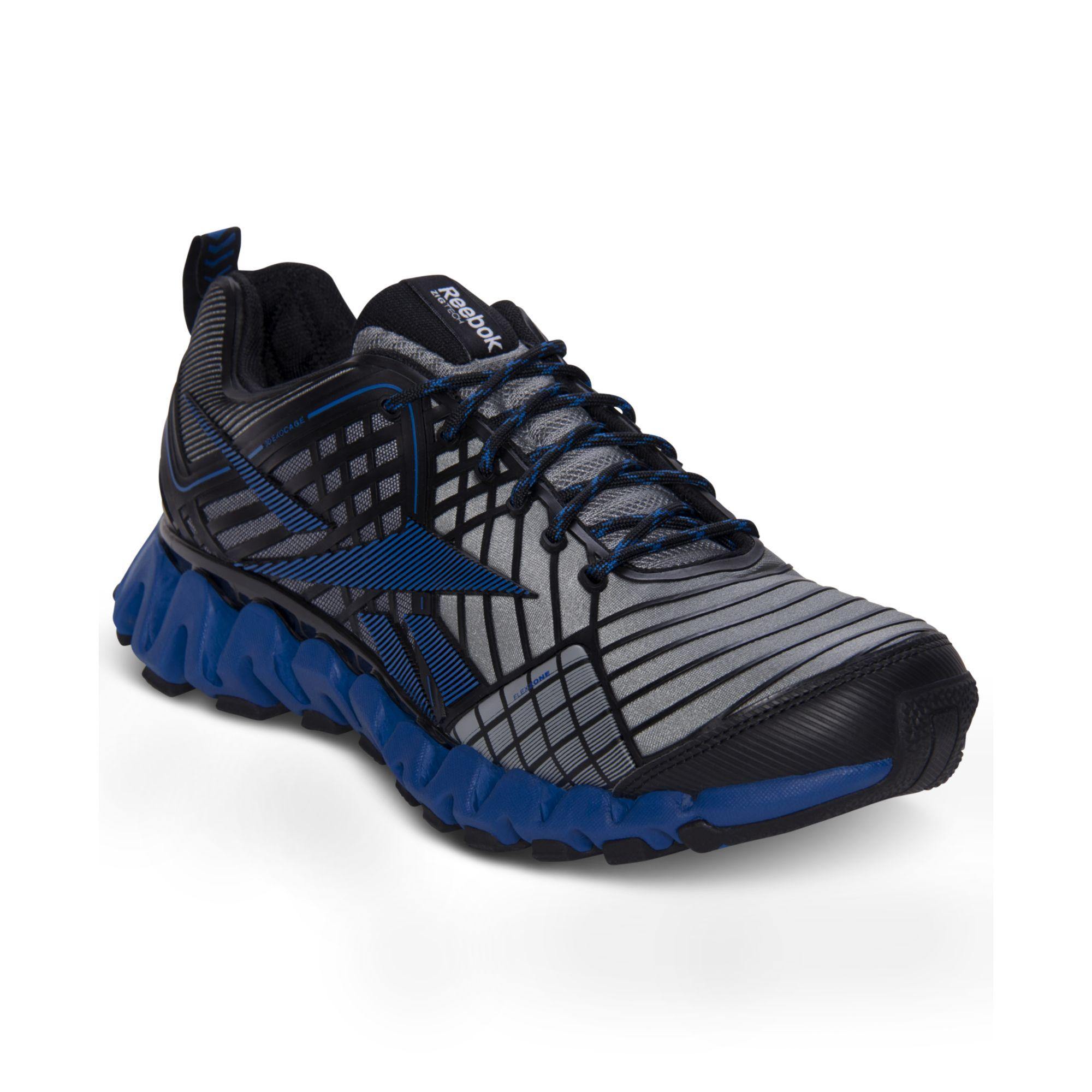 5b8e2f3b8f64 Lyst - Reebok Zigwild Tr 3 Running Sneakers in Blue for Men