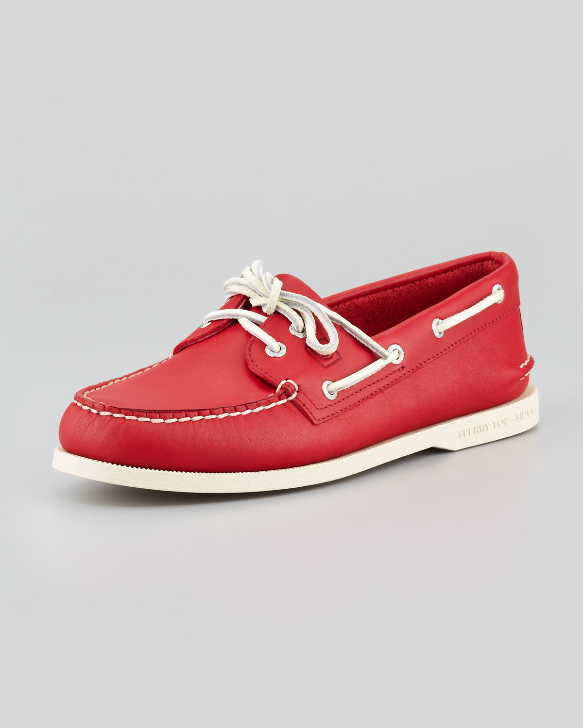 Sperry top-sider Authentic Original Boat Shoe Red in Red ...