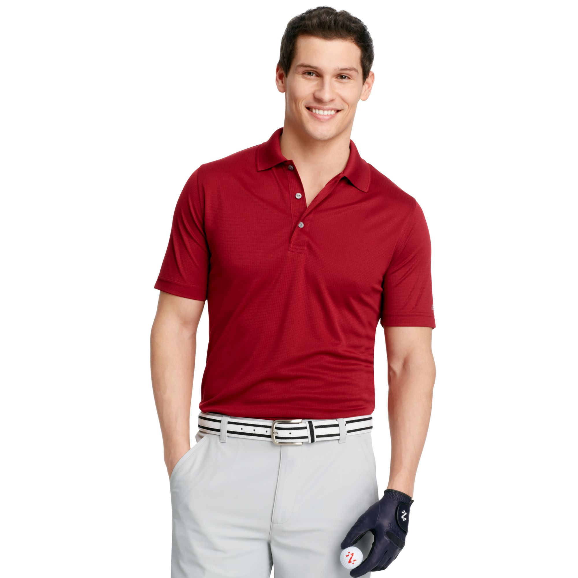 Izod izod big and tall shirt shortsleeve solid performance for Izod big and tall essential solid shirt