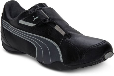 puma men's redon move casual sneakers from finish line in